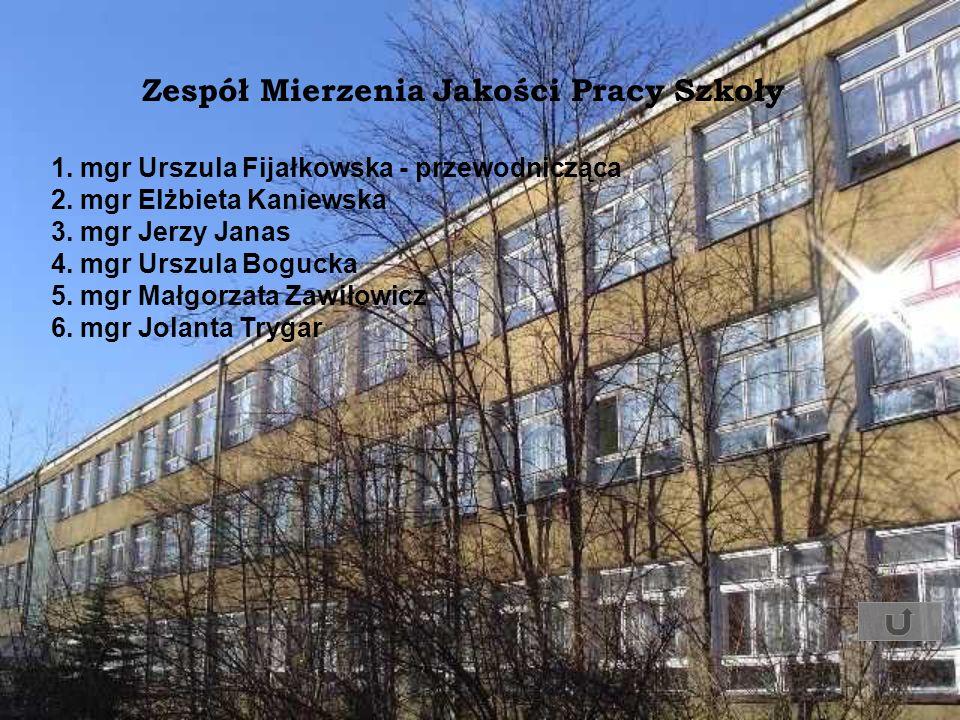 Zespół Mierzenia Jakości Pracy Szkoły