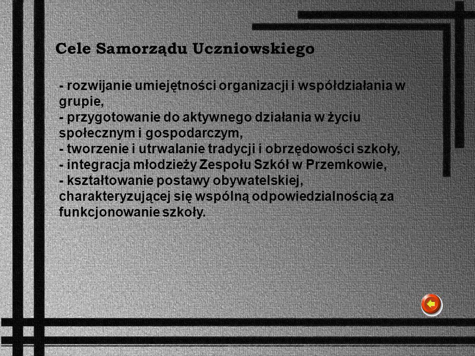 Cele Samorządu Uczniowskiego