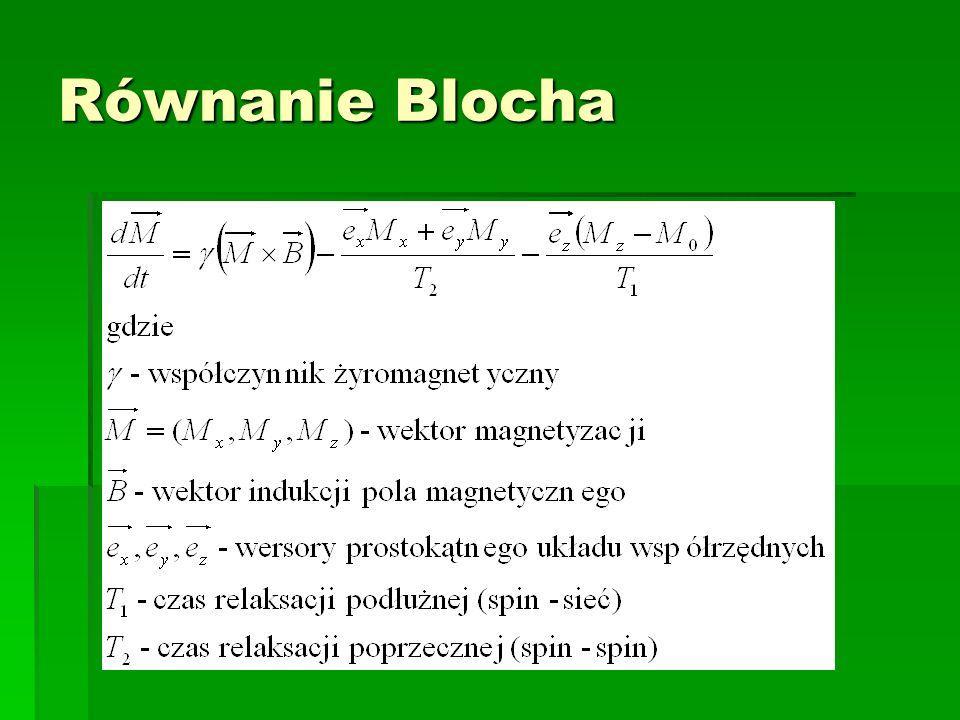 Równanie Blocha