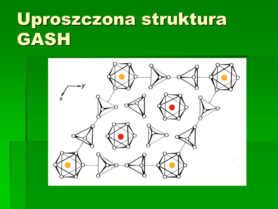 Uproszczona struktura GASH