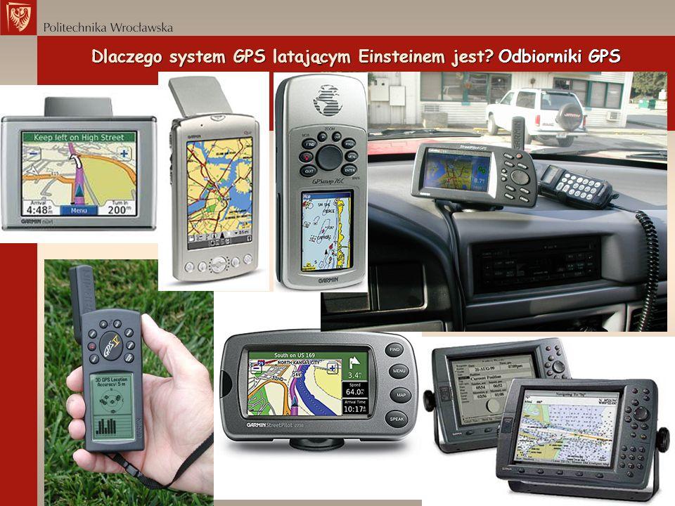 Dlaczego system GPS latającym Einsteinem jest Odbiorniki GPS