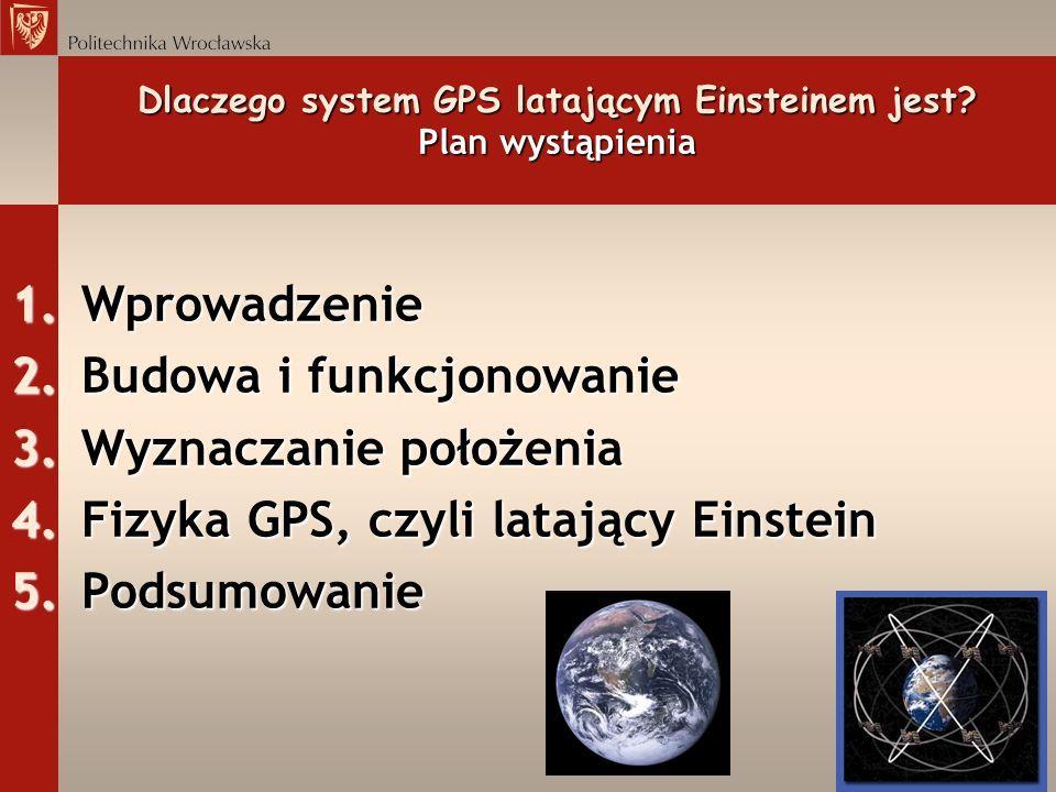 Dlaczego system GPS latającym Einsteinem jest Plan wystąpienia