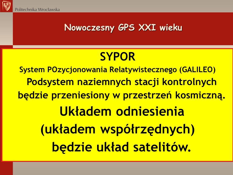 Nowoczesny GPS XXI wieku