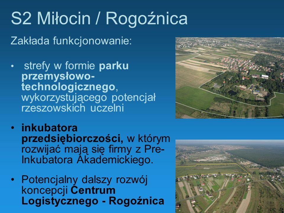 S2 Miłocin / Rogoźnica Zakłada funkcjonowanie: