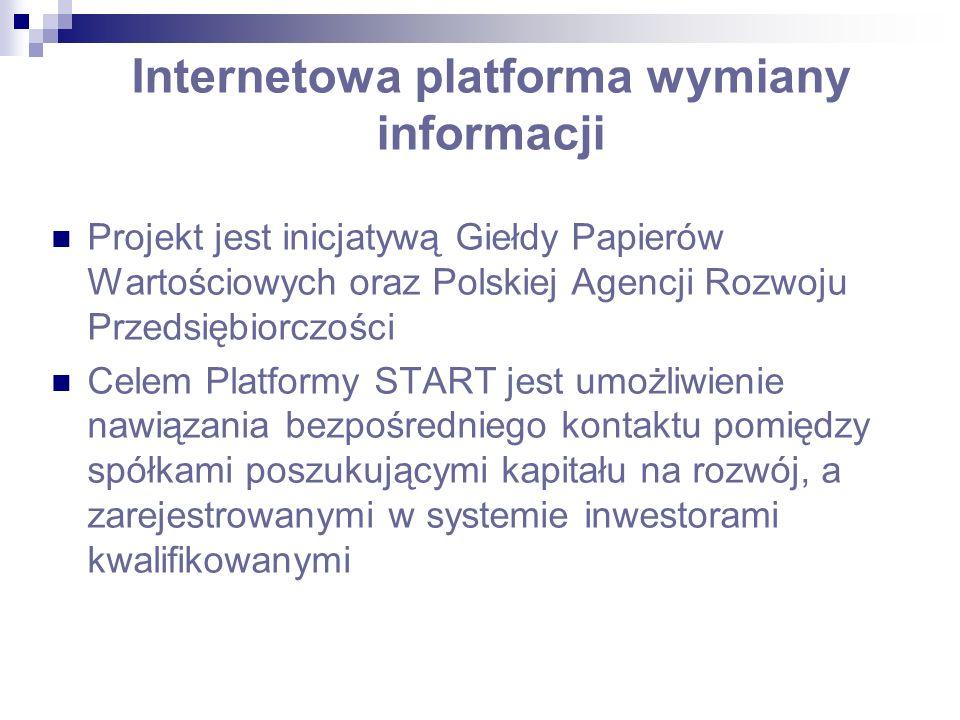 Internetowa platforma wymiany informacji