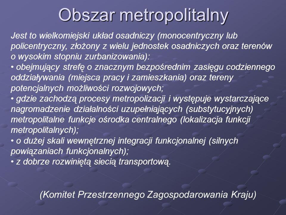 Obszar metropolitalny