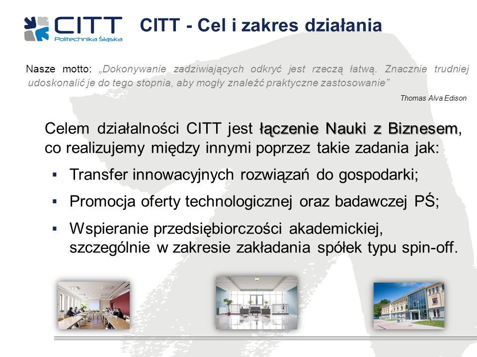 CITT - Cel i zakres działania