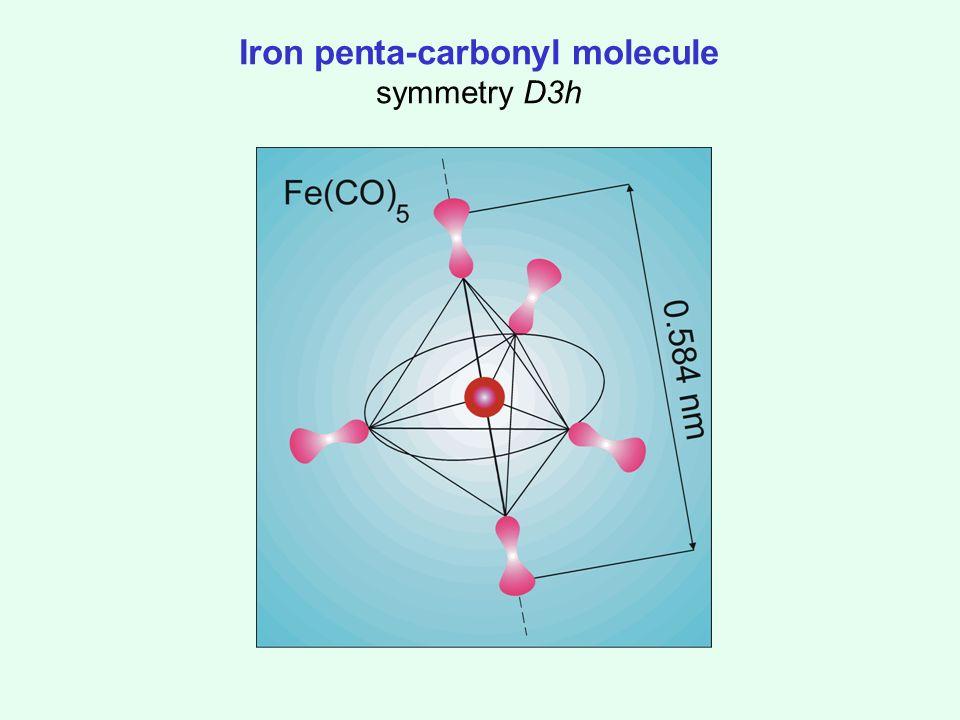 Iron penta-carbonyl molecule