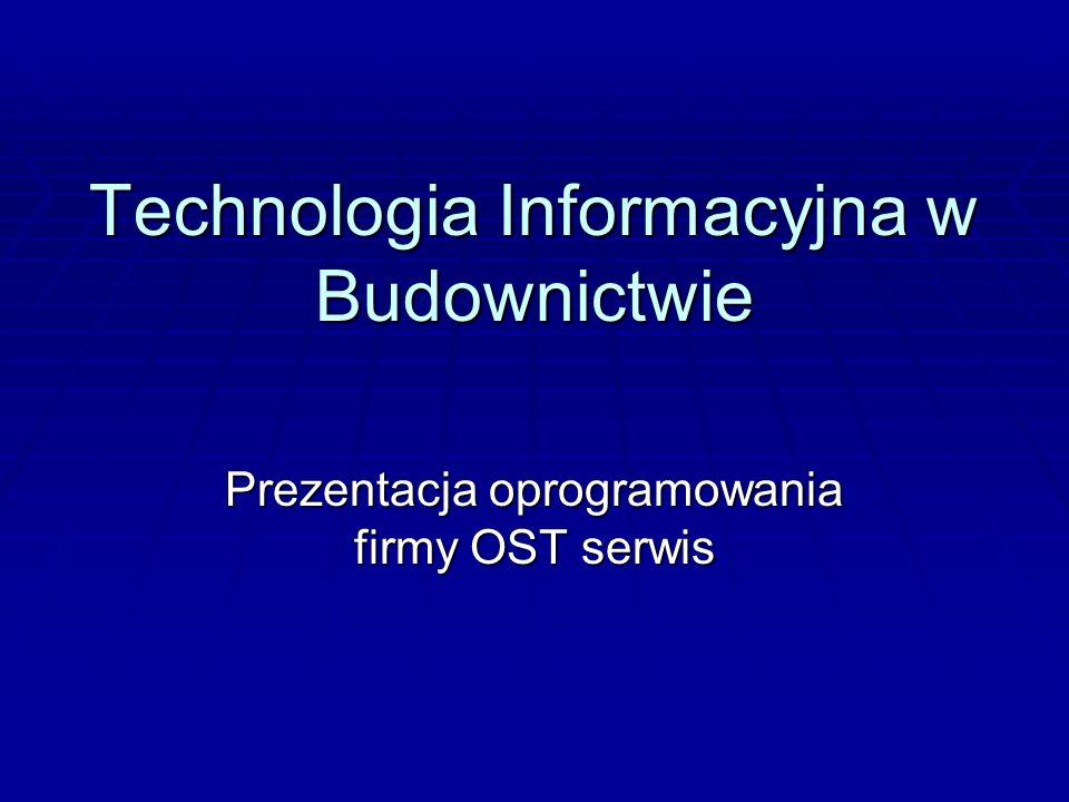 Technologia Informacyjna w Budownictwie