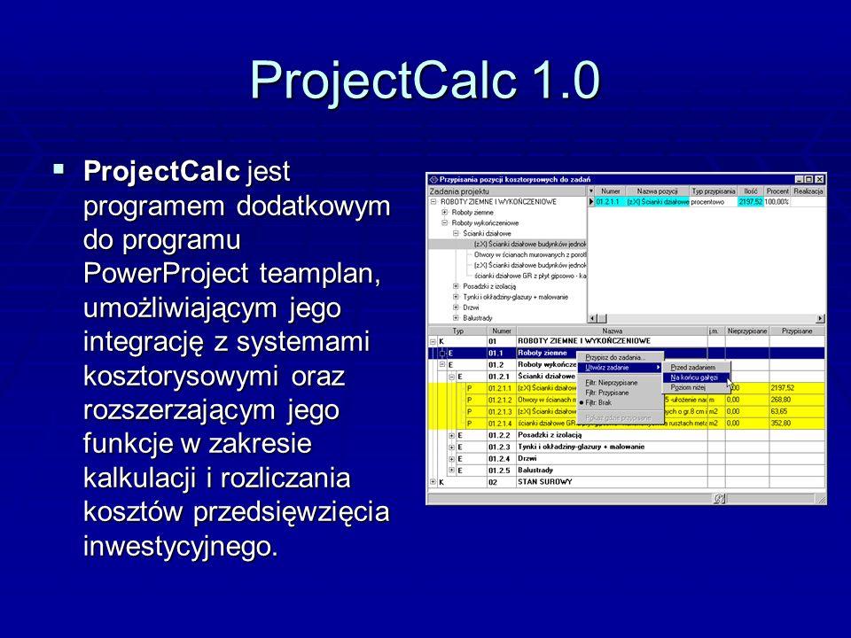 ProjectCalc 1.0