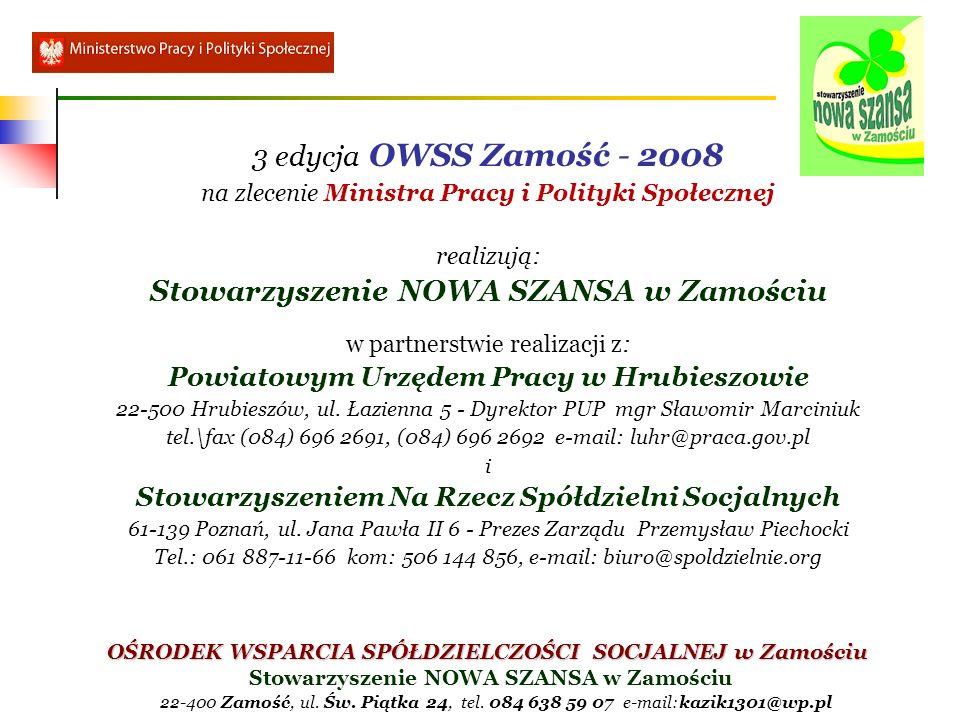 Stowarzyszenie NOWA SZANSA w Zamościu