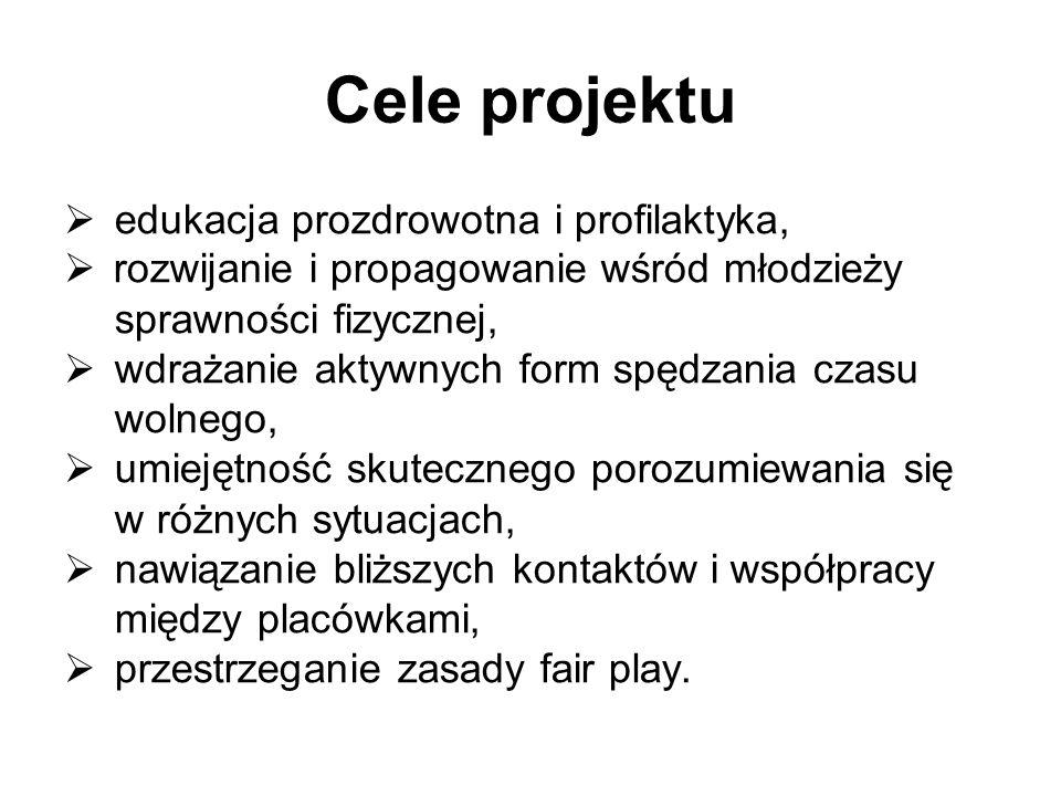 Cele projektu edukacja prozdrowotna i profilaktyka,