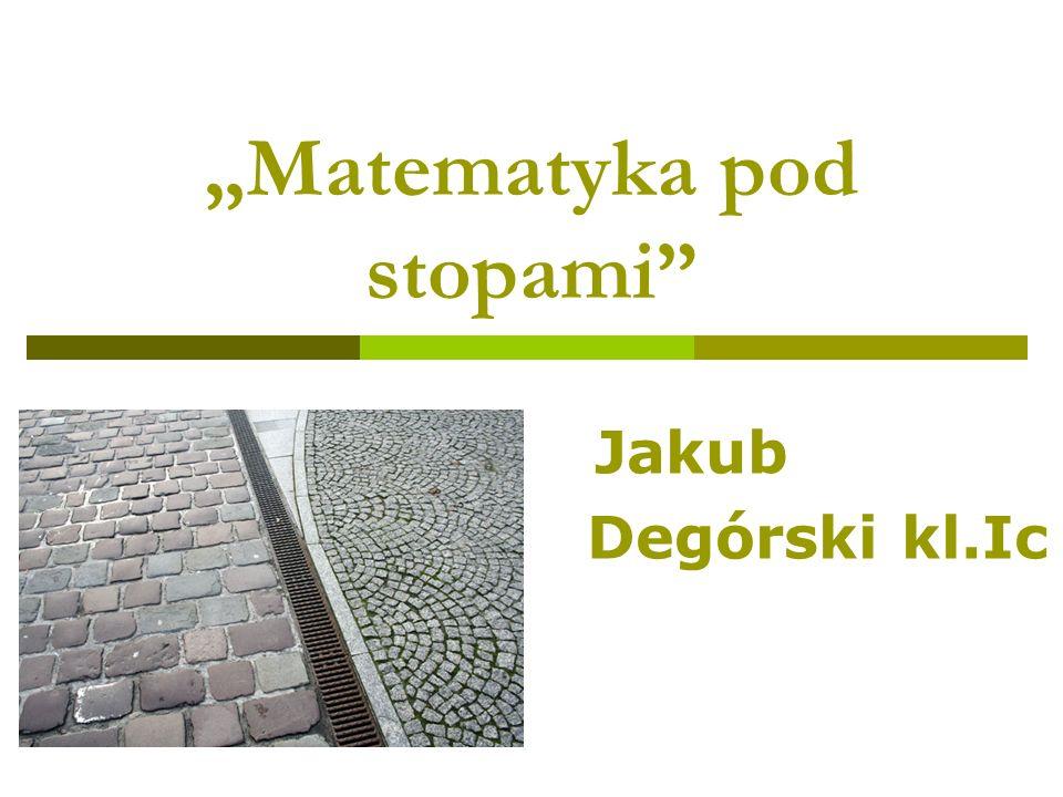 """Matematyka pod stopami"