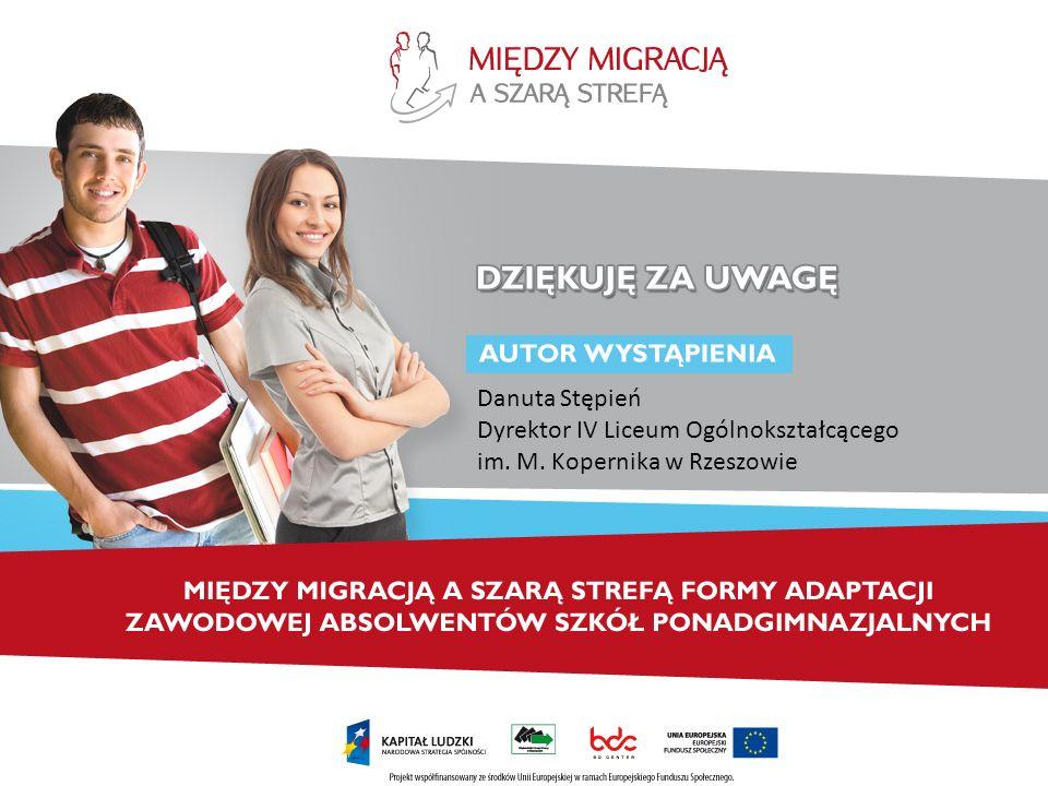 Danuta Stępień Dyrektor IV Liceum Ogólnokształcącego im. M