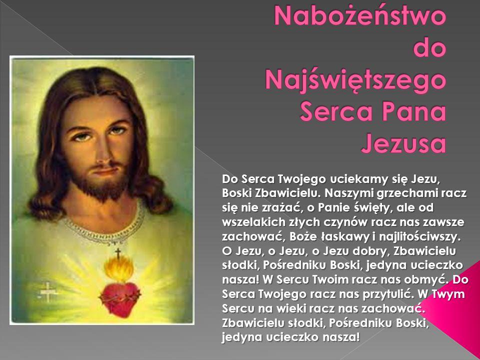 Nabożeństwo do Najświętszego Serca Pana Jezusa