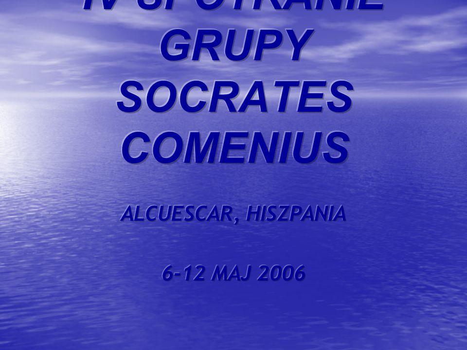 IV SPOTKANIE GRUPY SOCRATES COMENIUS