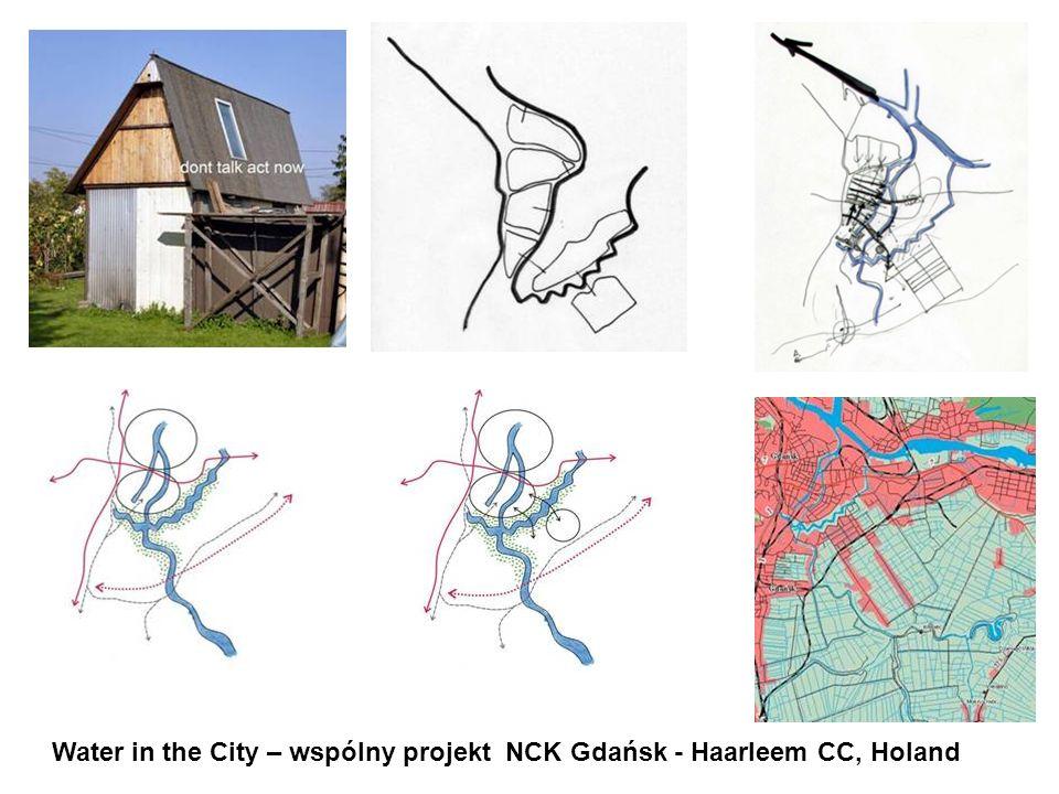 Water in the City – wspólny projekt NCK Gdańsk - Haarleem CC, Holand
