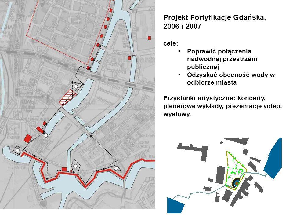 Projekt Fortyfikacje Gdańska, 2006 i 2007 cele: