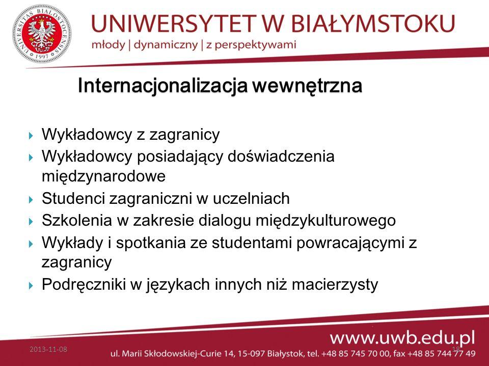 Internacjonalizacja wewnętrzna
