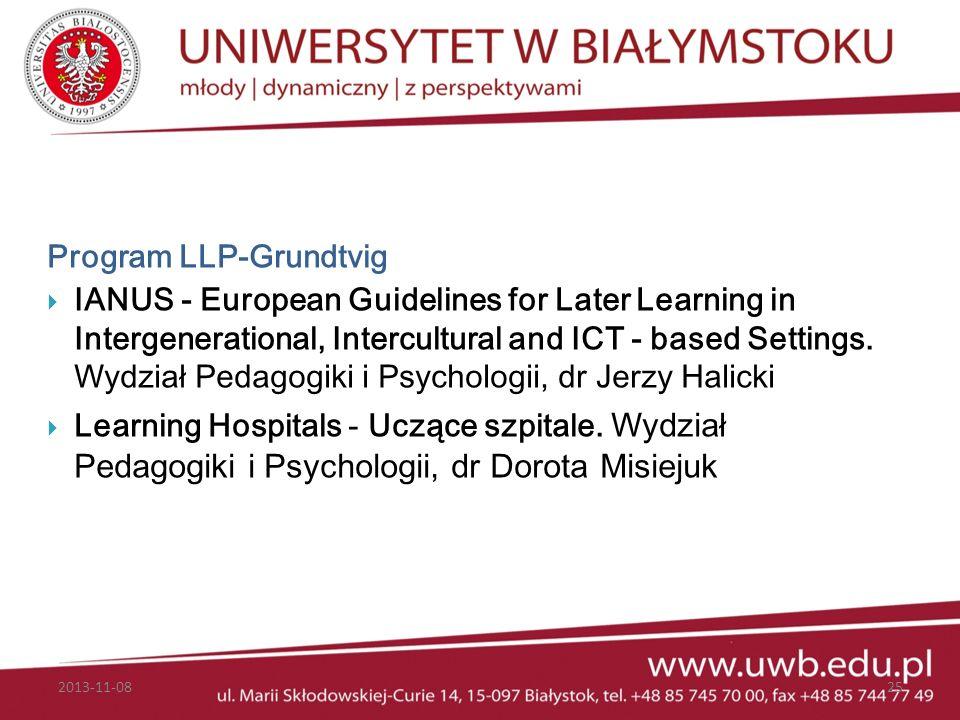 Program LLP-Grundtvig