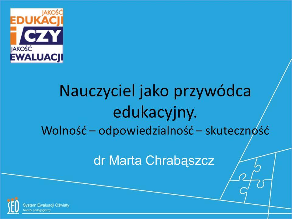 Nauczyciel jako przywódca edukacyjny