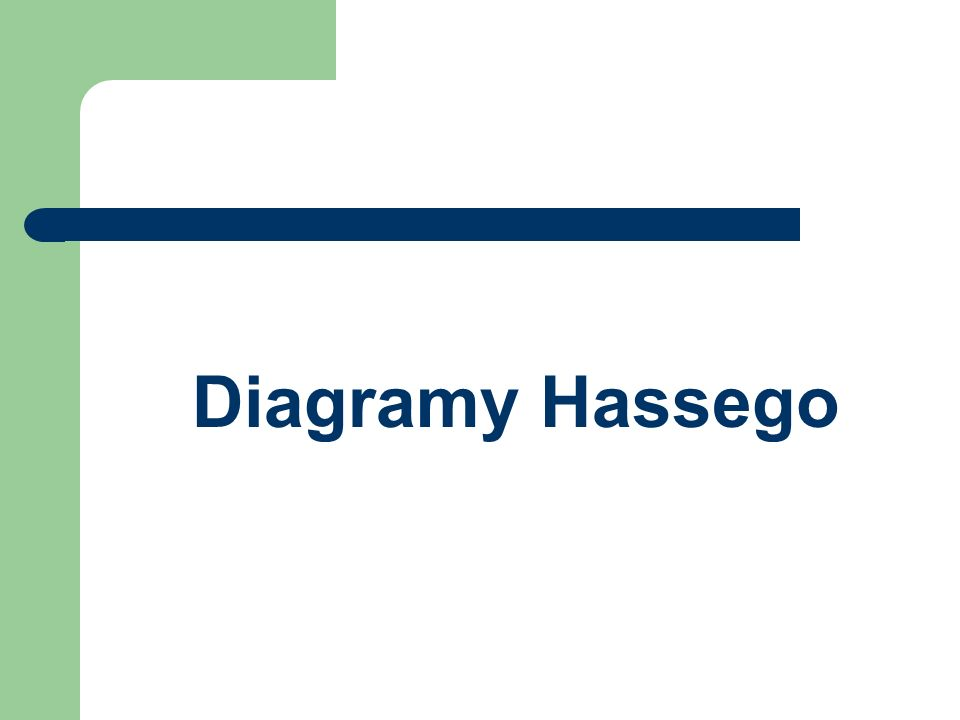 Diagramy Hassego