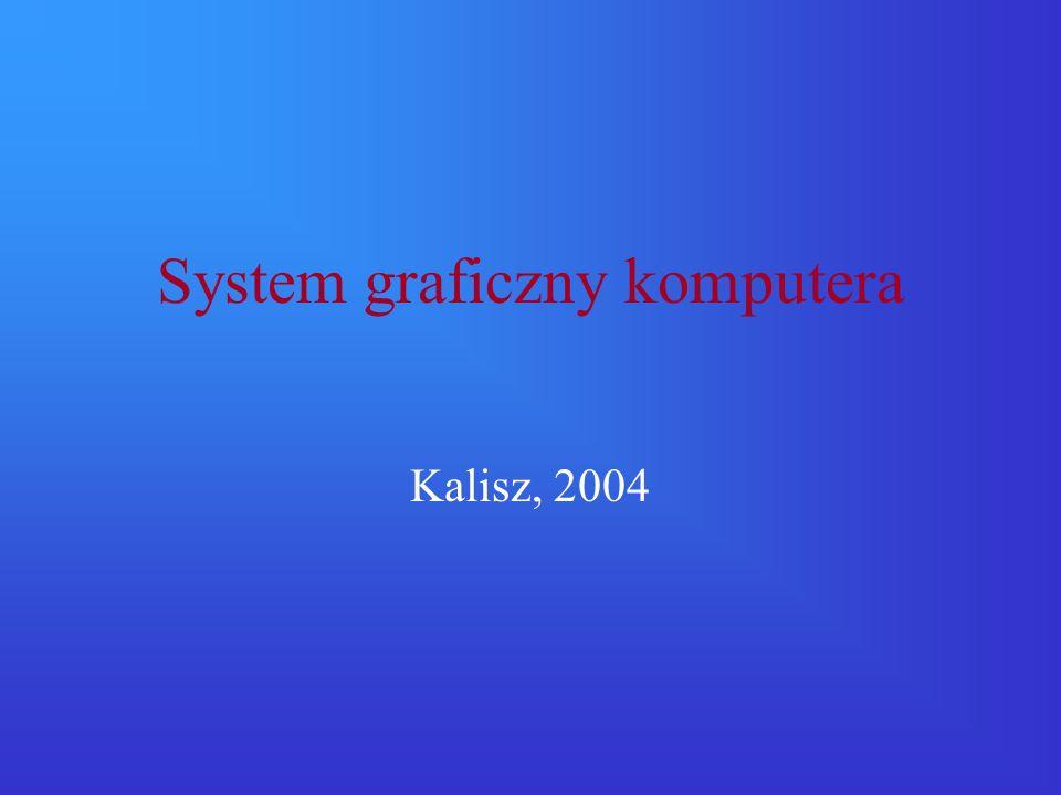 System graficzny komputera