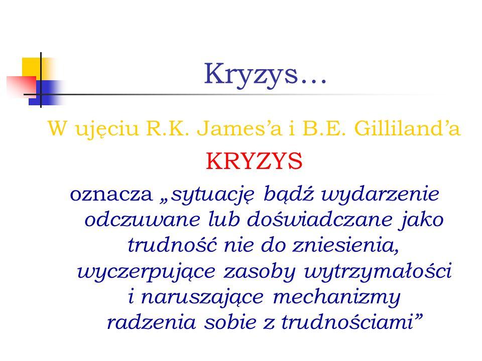 W ujęciu R.K. James'a i B.E. Gilliland'a