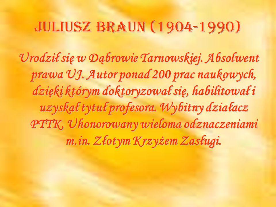 Juliusz Braun (1904-1990)