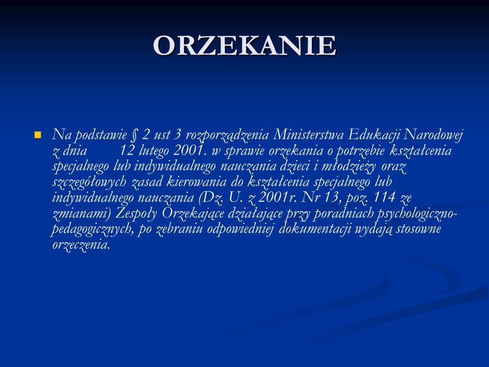 ORZEKANIE