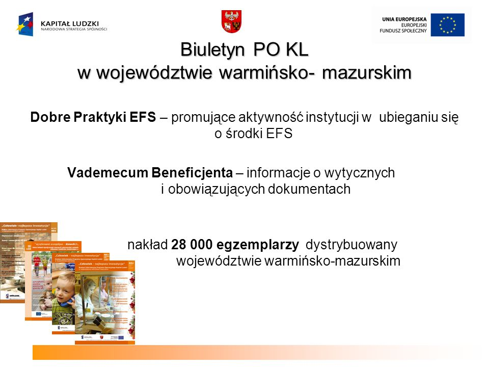 Biuletyn PO KL w województwie warmińsko- mazurskim