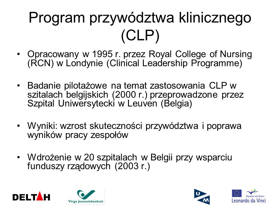 Program przywództwa klinicznego (CLP)