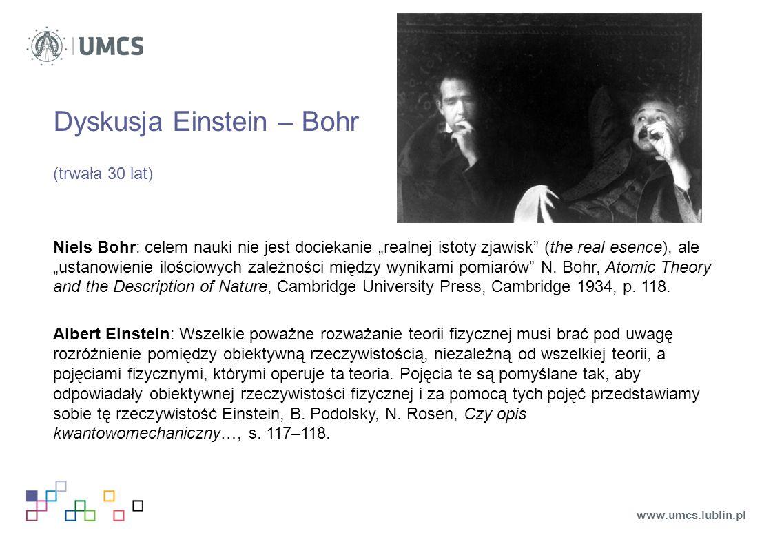 Dyskusja Einstein – Bohr