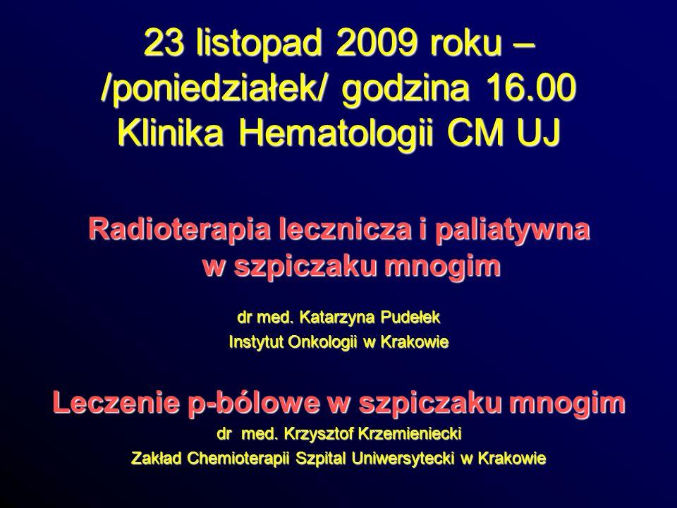 23 listopad 2009 roku – /poniedziałek/ godzina 16