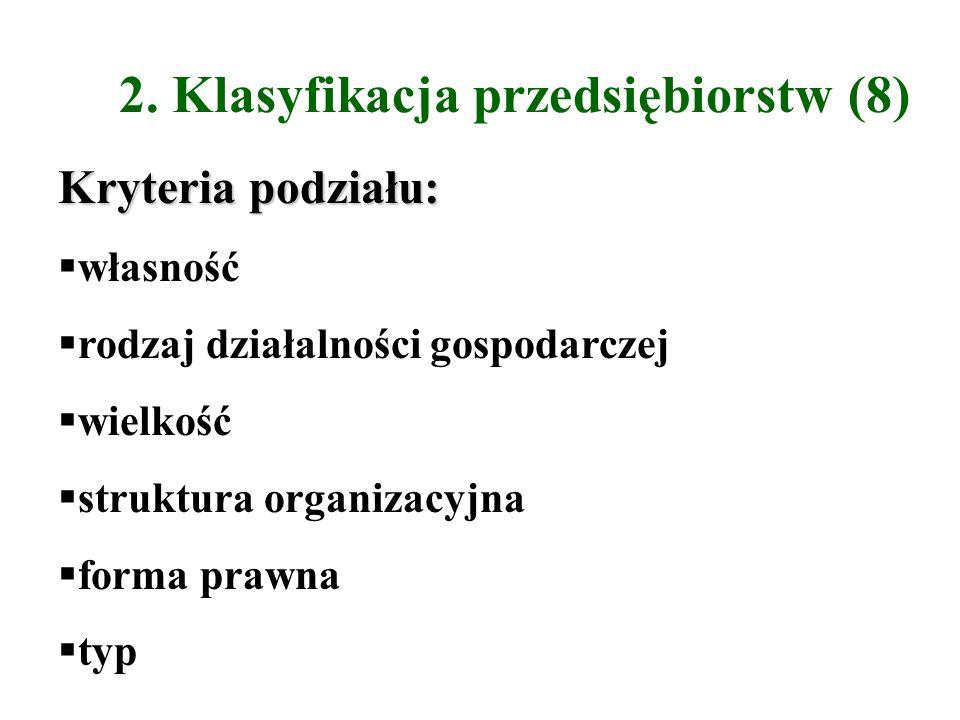 2. Klasyfikacja przedsiębiorstw (8)