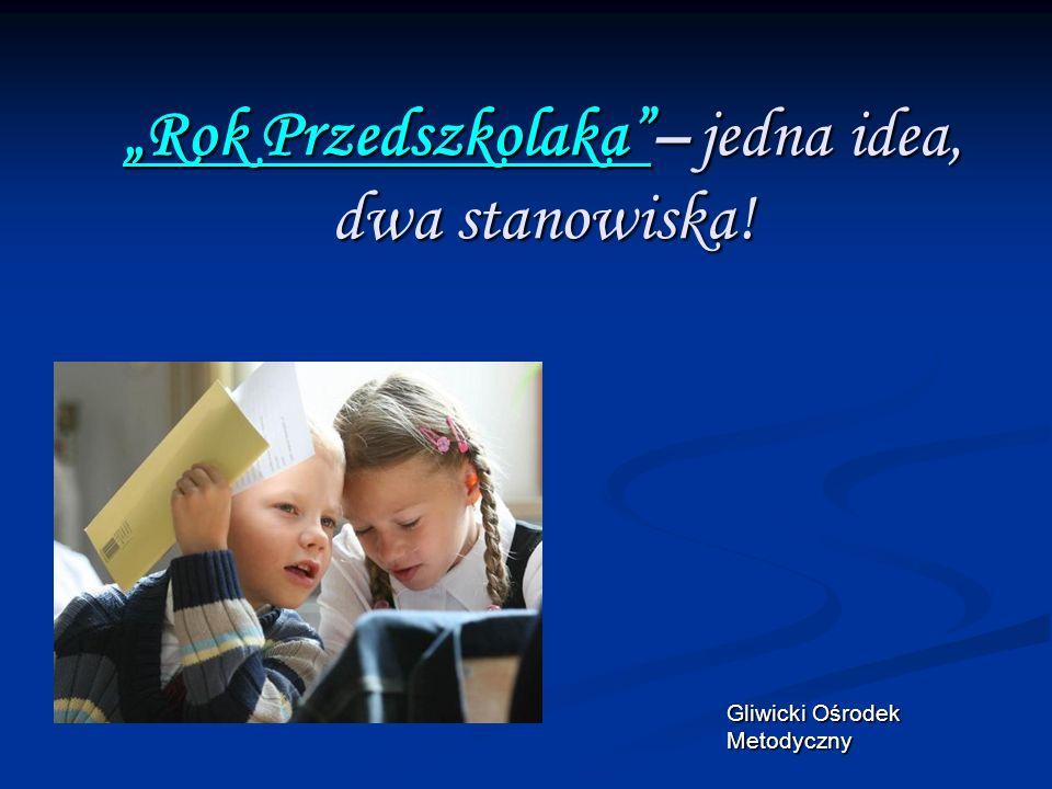 """""""Rok Przedszkolaka – jedna idea, dwa stanowiska!"""