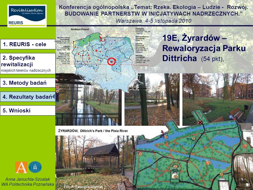 19E, Żyrardów – Rewaloryzacja Parku Dittricha (54 pkt),