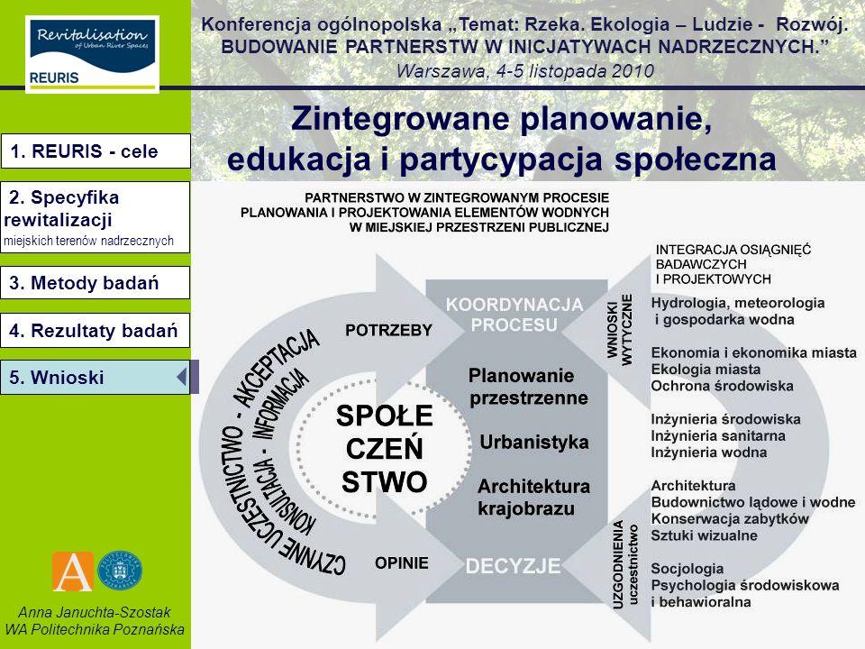 Zintegrowane planowanie, edukacja i partycypacja społeczna