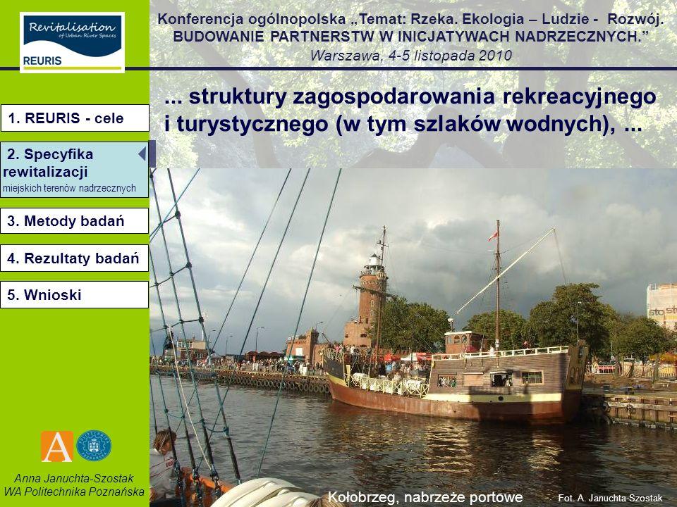 ... struktury zagospodarowania rekreacyjnego i turystycznego (w tym szlaków wodnych), ...