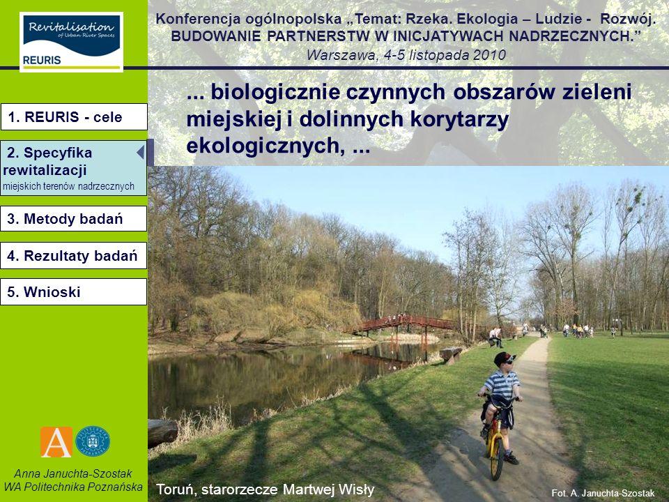 ... biologicznie czynnych obszarów zieleni miejskiej i dolinnych korytarzy ekologicznych, ...