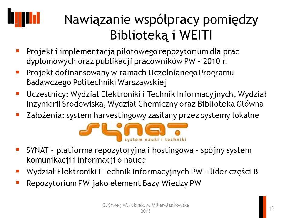 Nawiązanie współpracy pomiędzy Biblioteką i WEITI