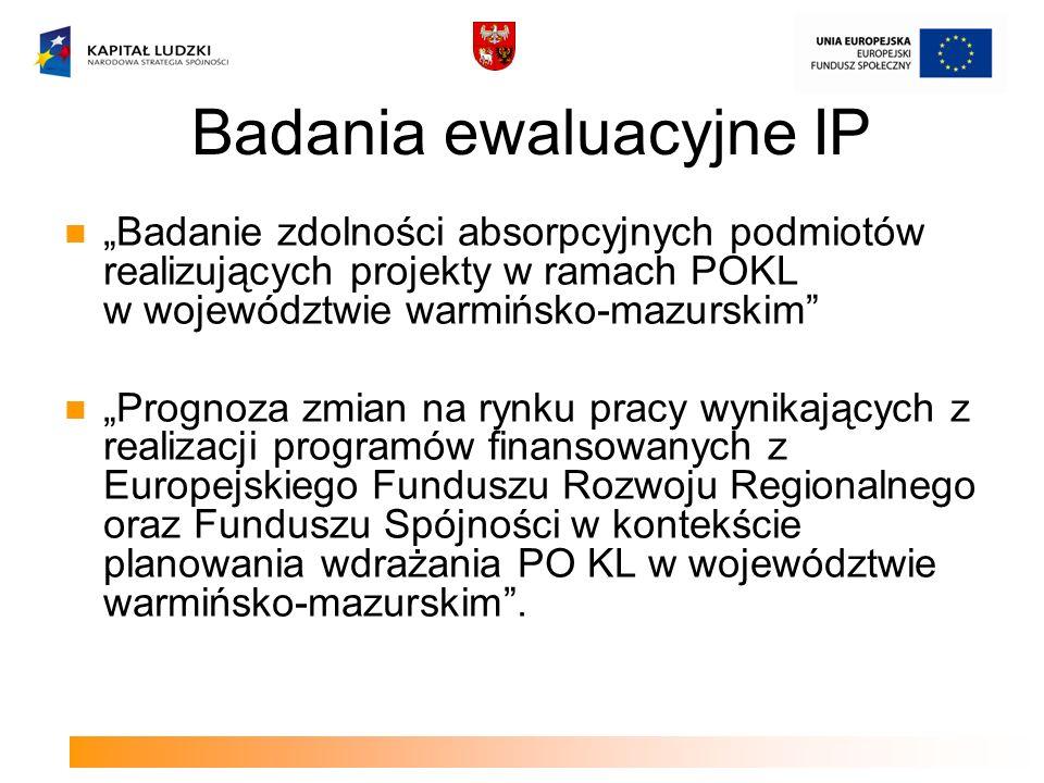 Badania ewaluacyjne IP