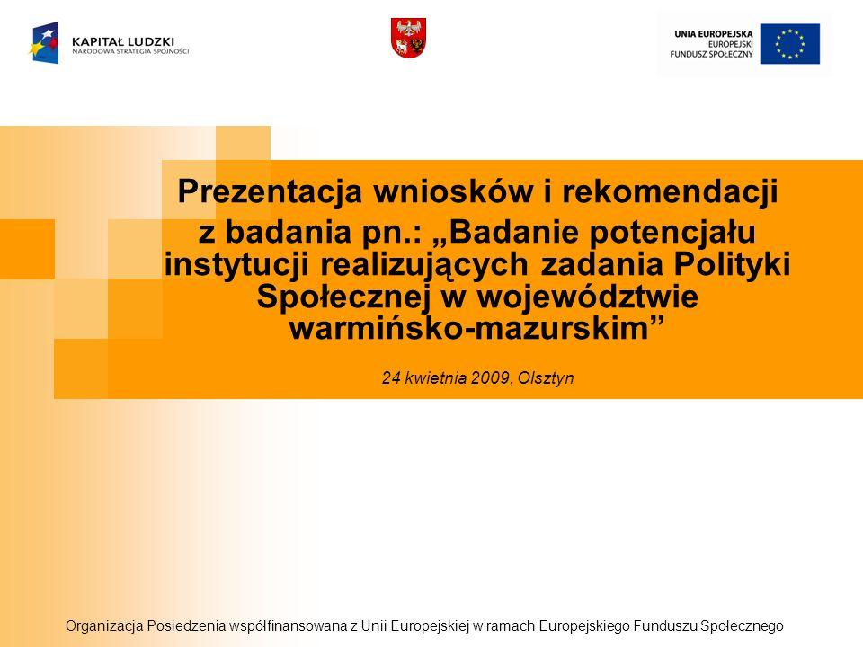 Prezentacja wniosków i rekomendacji