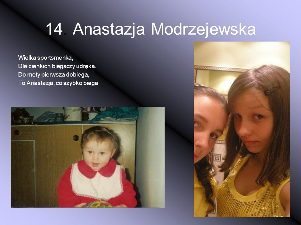 14. Anastazja Modrzejewska