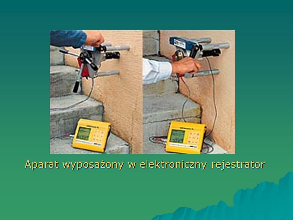 Aparat wyposażony w elektroniczny rejestrator