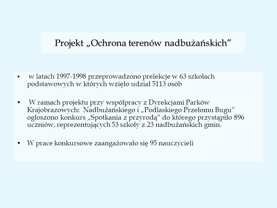 """Projekt """"Ochrona terenów nadbużańskich"""
