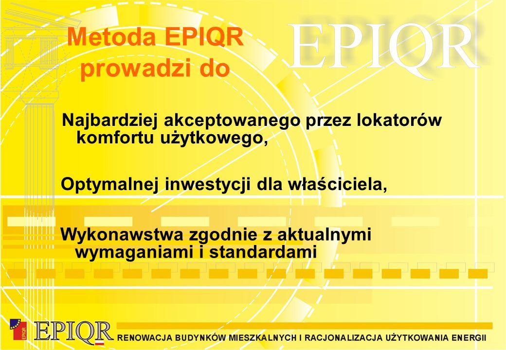 Metoda EPIQR prowadzi do