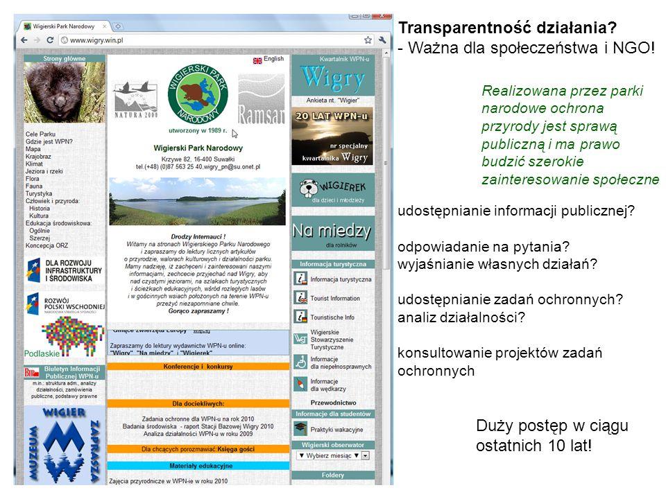 Transparentność działania - Ważna dla społeczeństwa i NGO!