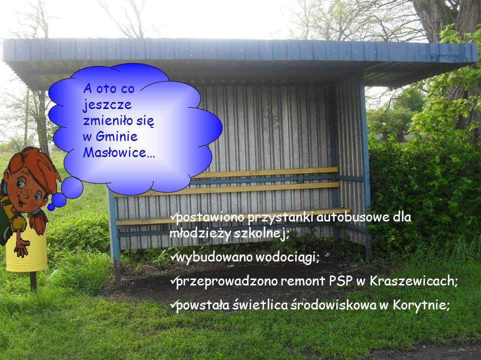 A oto co jeszcze zmieniło się w Gminie Masłowice…
