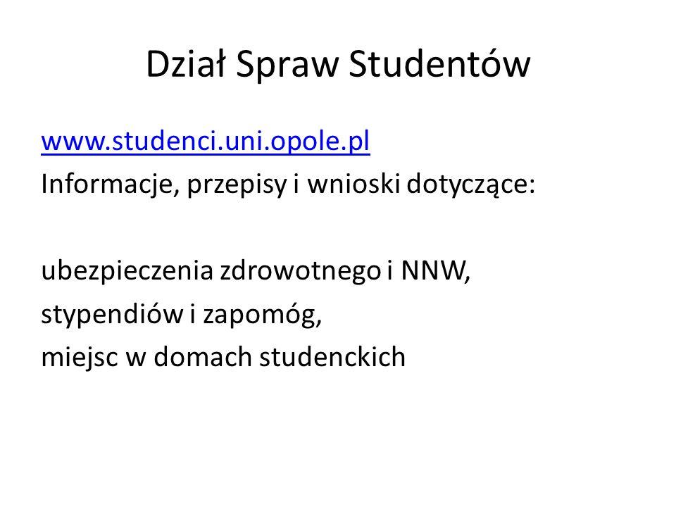 Dział Spraw Studentów